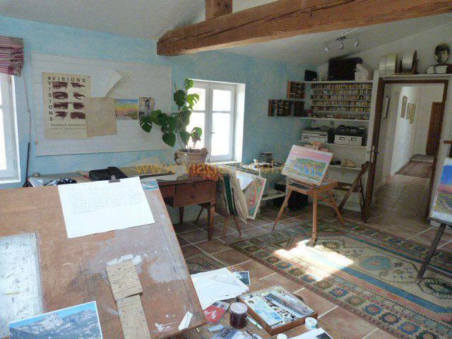 Vendita nell' vitalizio di vita casa Tourrettes-sur-loup 265000€ - Fotografia 2