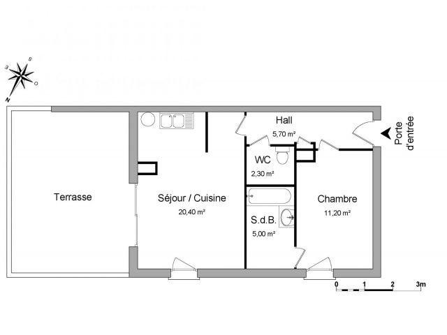Location appartement L'etrat 565€ CC - Photo 2