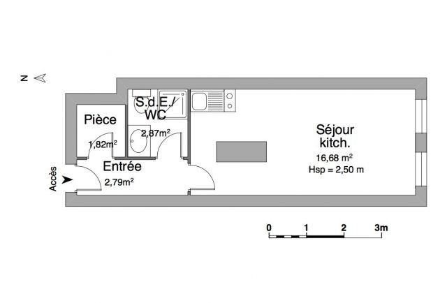 Locação apartamento Chambéry 437€ CC - Fotografia 2