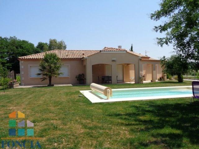 8 km ouest de bergerac maison récente 116 m² avec piscine neuve