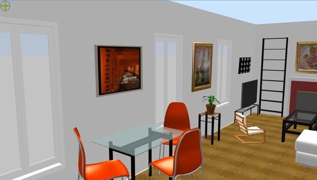 Vente appartement Paris 17ème 470000€ - Photo 3