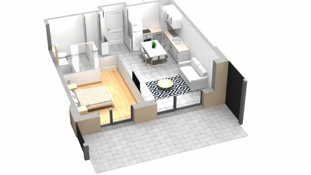 Vente appartement Villaz 202000€ - Photo 3