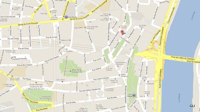 Location appartement Lyon 1er 612€ CC - Photo 1