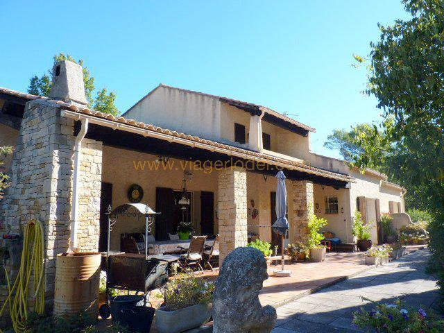 Vendita nell' vitalizio di vita casa Besse-sur-issole 430000€ - Fotografia 1