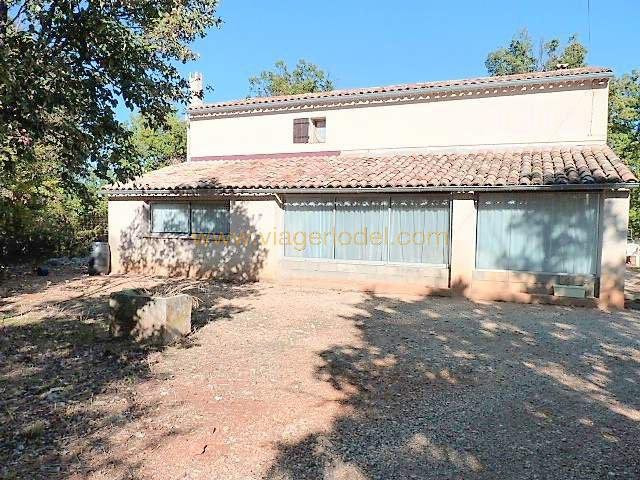 Viager maison / villa Simiane-la-rotonde 110 000€ - Photo 1