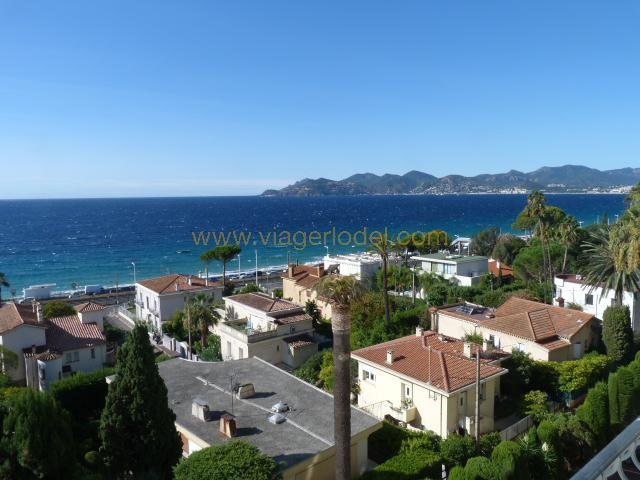 Life annuity apartment Cannes 590 000€ - Picture 1