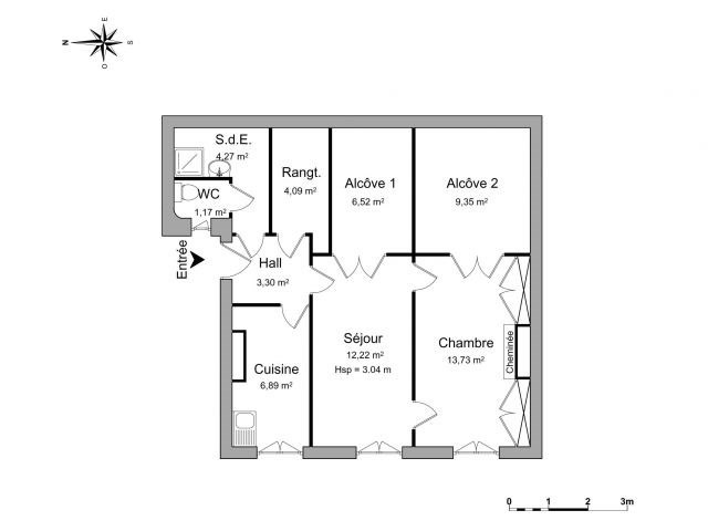 Location appartement Lyon 6ème 788€ CC - Photo 1