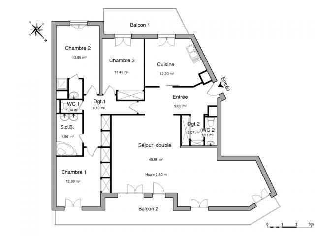 Location appartement Saint-etienne 1102€ CC - Photo 2