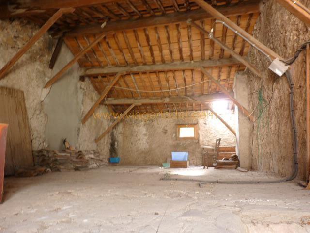 Vendita nell' vitalizio di vita casa La roquebrussanne 64400€ - Fotografia 5