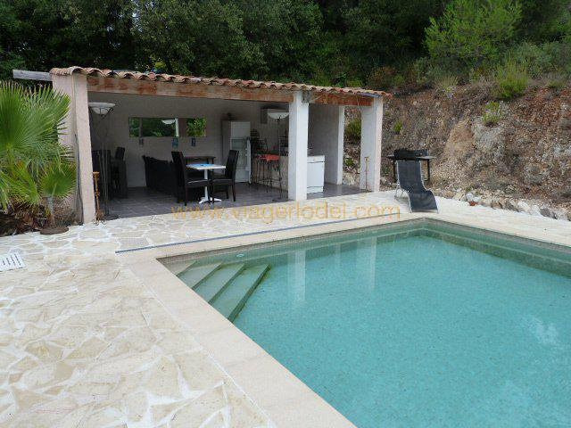 Vendita nell' vitalizio di vita casa Roquefort-les-pins 380000€ - Fotografia 4