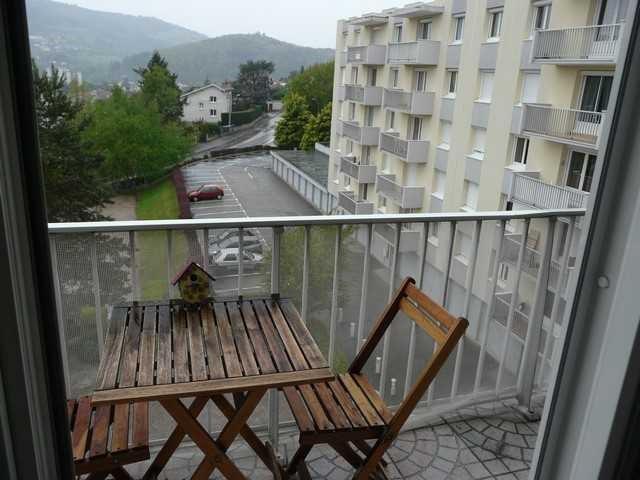 Verkoop  appartement Unieux 75000€ - Foto 1