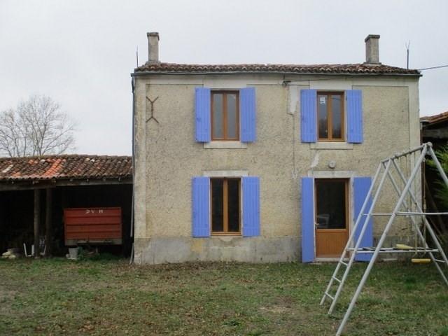 Rental house / villa Lozay 550€ CC - Picture 1