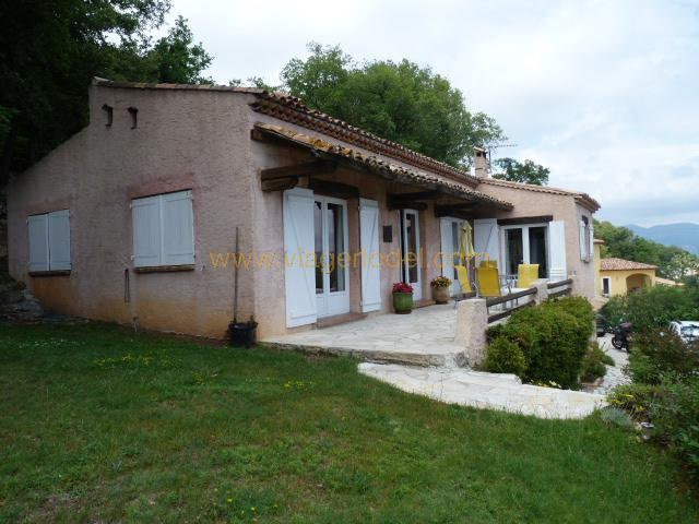 Vendita nell' vitalizio di vita casa Gattières 515000€ - Fotografia 1