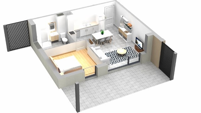 Sale apartment Villaz 204000€ - Picture 4