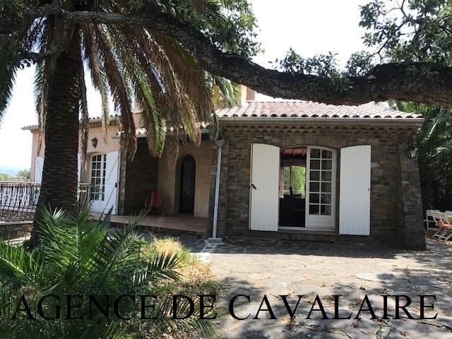 Sale house / villa Cavalaire 595000€ - Picture 1