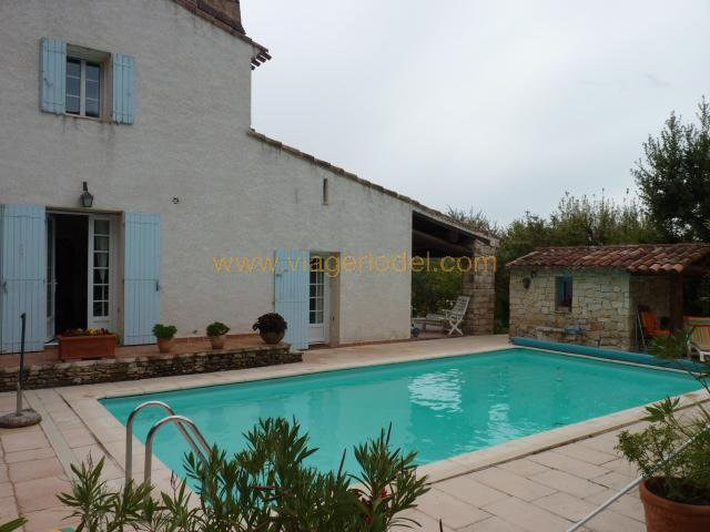 Life annuity house / villa Puyloubier 490 000€ - Picture 1