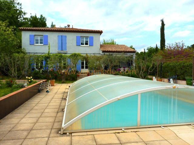 Verkauf auf rentenbasis haus Le val 336000€ - Fotografie 2