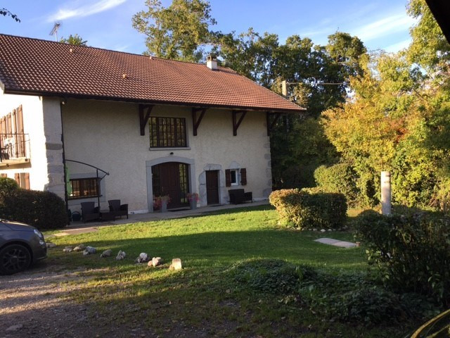 Location maison / villa Pers-jussy 1725€ CC - Photo 1