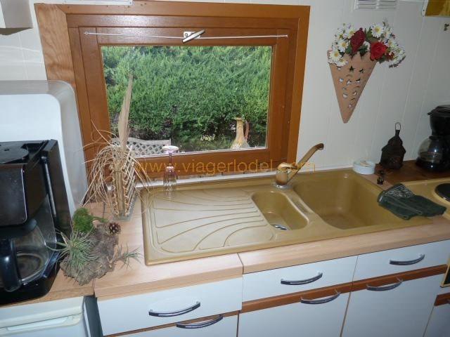 Vendita nell' vitalizio di vita casa Valbonne 110000€ - Fotografia 7