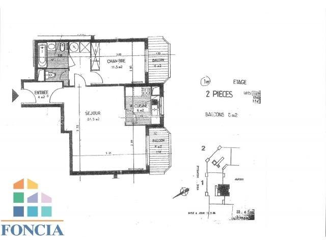 Rental apartment Suresnes 1323€ CC - Picture 10