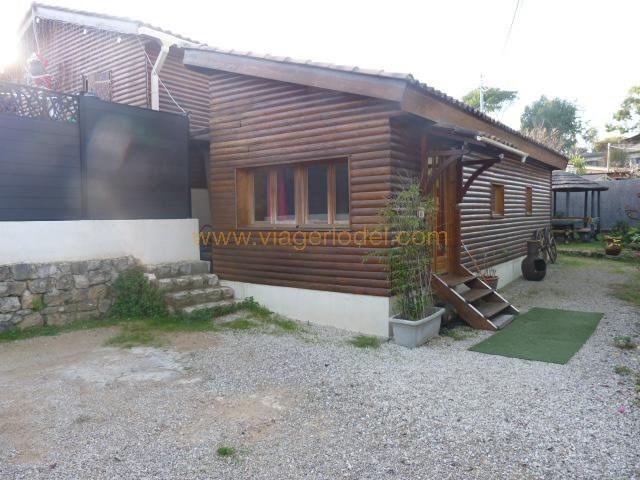 Vendita nell' vitalizio di vita casa Valbonne 110000€ - Fotografia 1