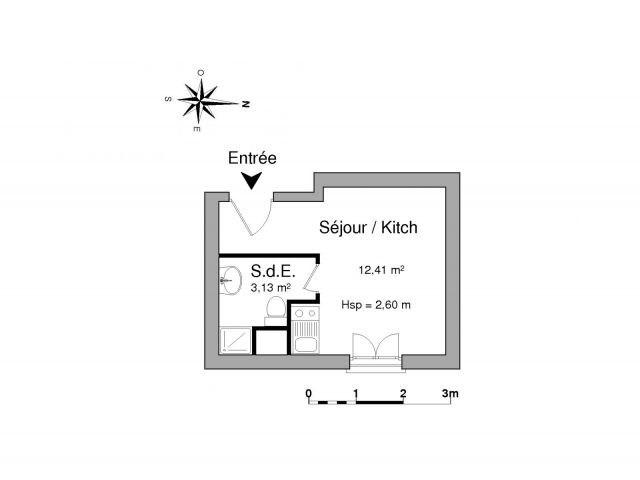 Location appartement Saint etienne 225€ CC - Photo 2
