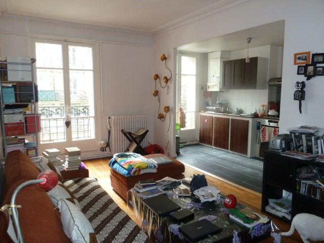 Venta  apartamento Paris 19ème 585000€ - Fotografía 1
