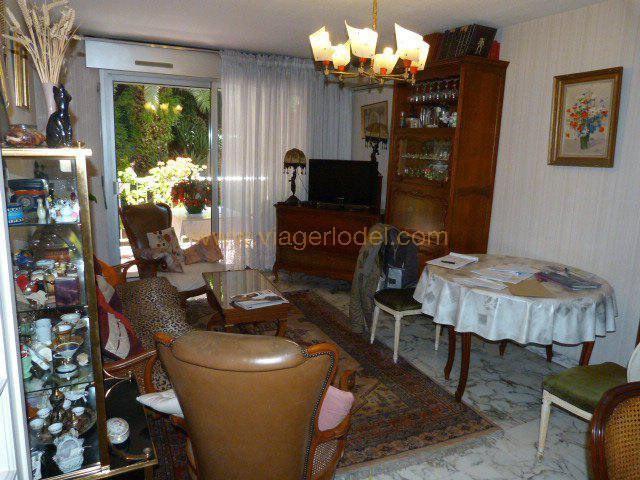 Vendita nell' vitalizio di vita appartamento Cagnes-sur-mer 55000€ - Fotografia 10