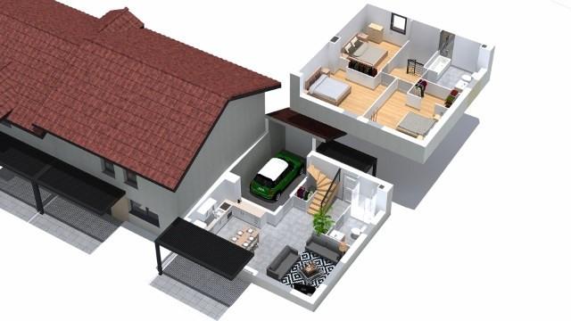 Sale house / villa Villaz 385000€ - Picture 4