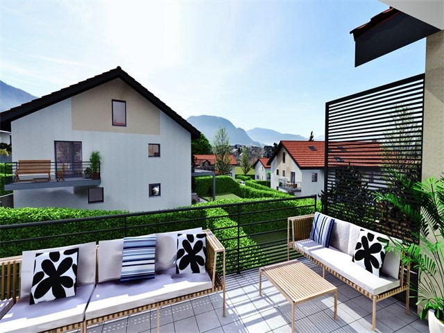 Vente appartement Villaz 334000€ - Photo 1