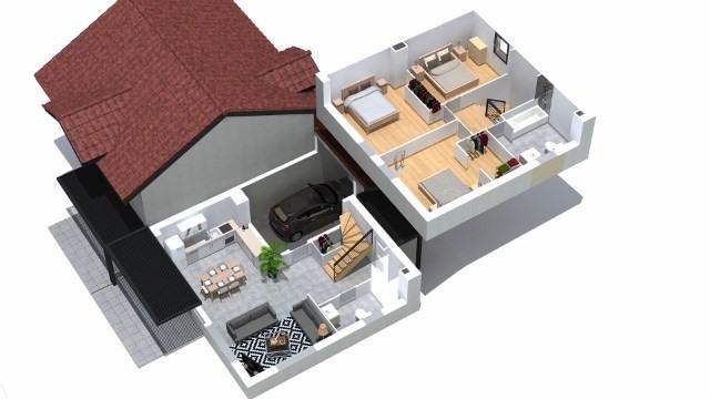 Vente maison / villa Villaz 385000€ - Photo 4