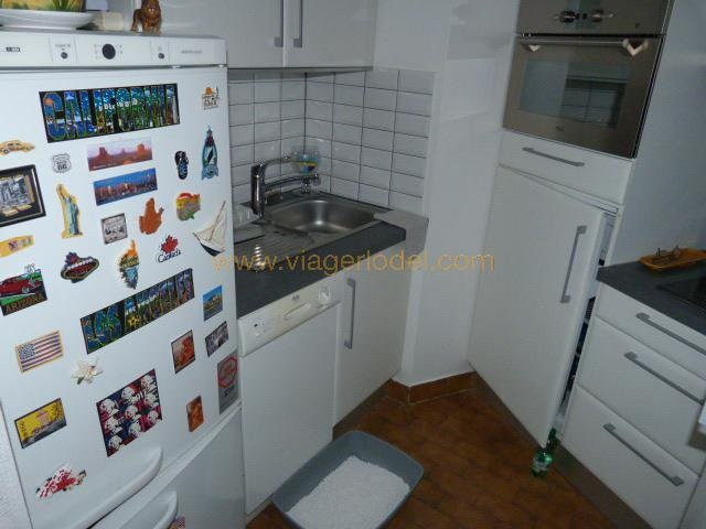 Verkauf auf rentenbasis wohnung Mandelieu-la-napoule 80000€ - Fotografie 9