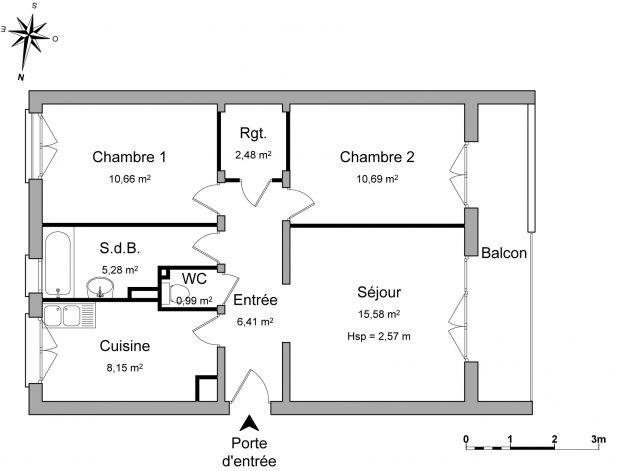 Location appartement Décines-charpieu 715€ CC - Photo 4