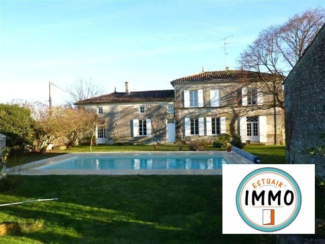 Sale house / villa Saint-fort-sur-gironde 468 000€ - Picture 1