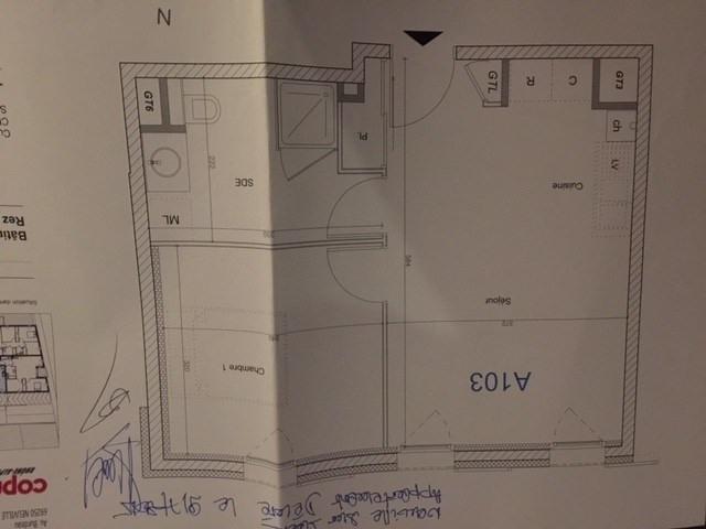 Verkoop  appartement Neuville sur saone 128000€ - Foto 3