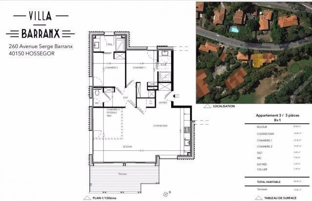 Vente de prestige appartement Hossegor 589000€ - Photo 3