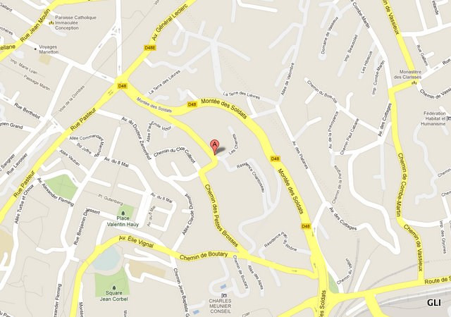 Location appartement Caluire et cuire 704€ CC - Photo 1