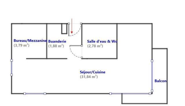 Vente appartement Cachan 250000€ - Photo 3