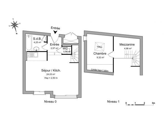 Location appartement Lyon 3ème 645€ CC - Photo 2
