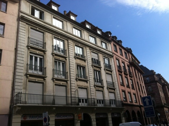 Rental apartment Strasbourg 810€ CC - Picture 1
