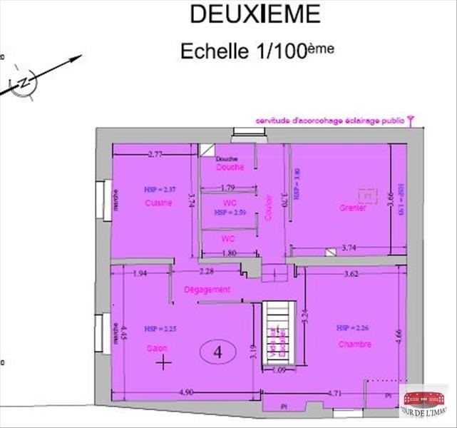 Vente appartement Monnetier mornex 149000€ - Photo 1