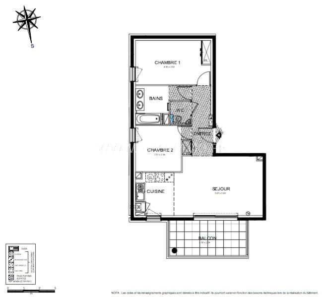 Vente appartement Roquebrune-cap-martin 440000€ - Photo 3