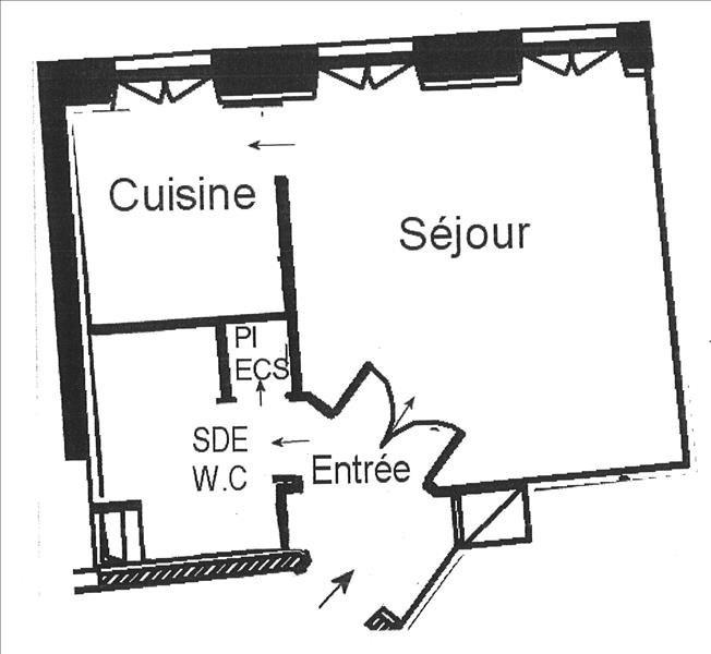 Alquiler  apartamento Paris 9ème 945€ CC - Fotografía 1