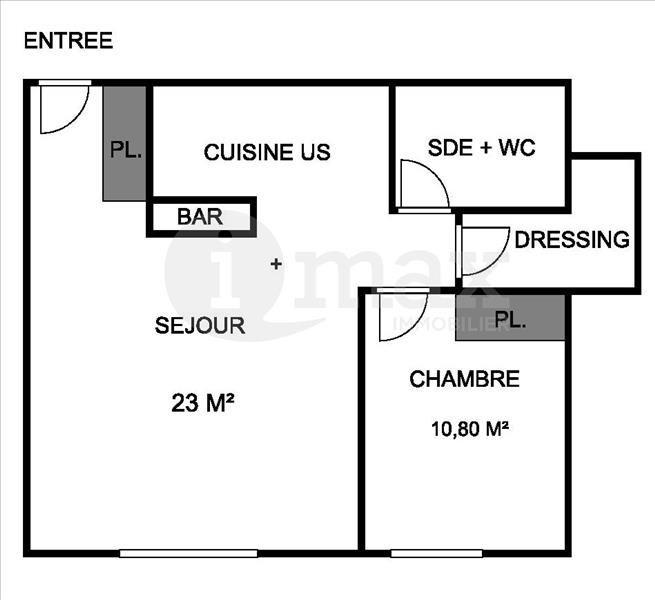 Sale apartment Asnieres sur seine 339000€ - Picture 4
