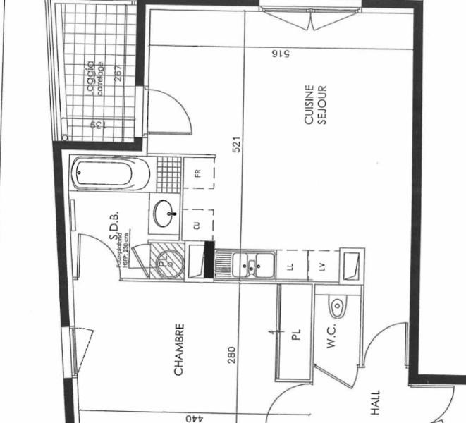 Location appartement Ecully 718€ CC - Photo 5