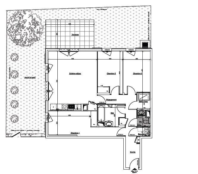 Sale apartment Ste foy les lyon 430000€ - Picture 3