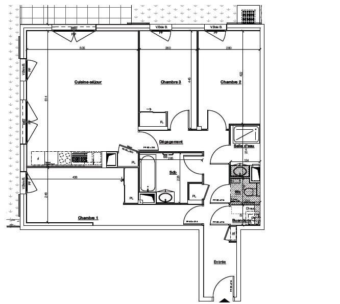 Sale apartment Ste foy les lyon 430000€ - Picture 4
