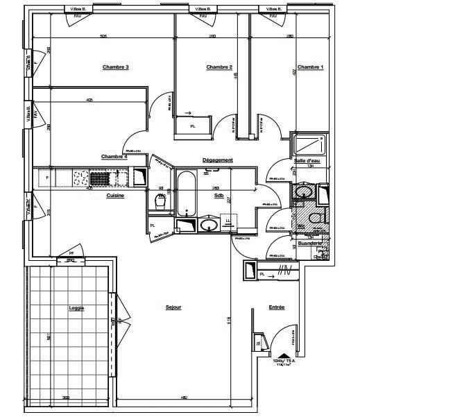 Sale apartment Ste foy les lyon 550000€ - Picture 4