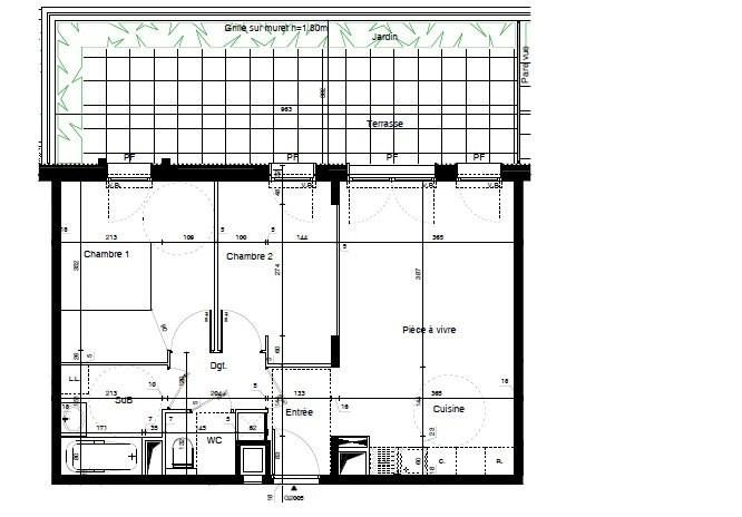 Sale apartment Meyzieu 210400€ - Picture 4