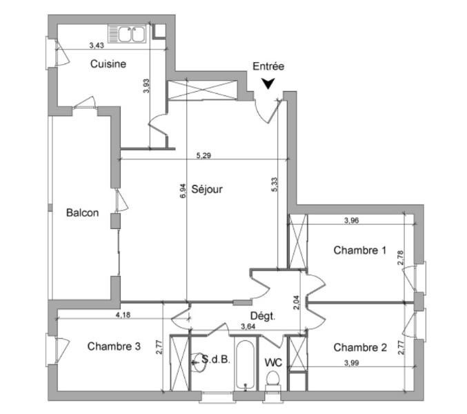 Location appartement Villefranche sur saone 878,25€ CC - Photo 8